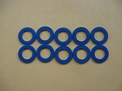 10 PC OIL DRAIN PLUG WASHER OEM BLUE GASKETS (P/N 90430-12031) FITS TOYOTA/LEXUS (Oil Drain Plug Washer)