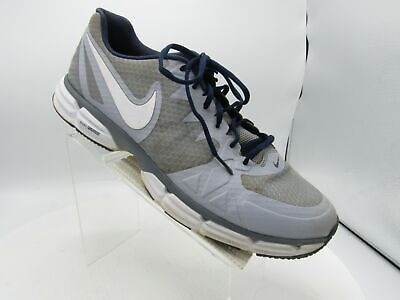 Nike Dual Fusion TR 6 704389-015 Size 15 M Gray Blue Running Training Mens Shoes