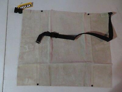 New Superior Welder Weld Welding Leather Bib Apron 18 X 24 Tan Color Al1823