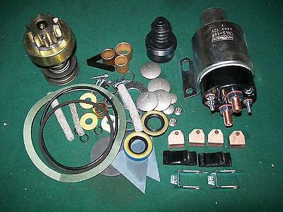 Delco 1113176 30mt Starter Rebuild Kit Farmall Ih 706d Diesel Drive Solenoid