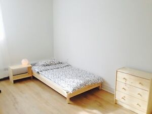 A specious room rent  with new furniture