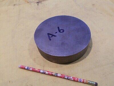 A-6 Tool Steel Rod Machine Mold Die Shop Round Bar Stock A6 6 Od X 1 38