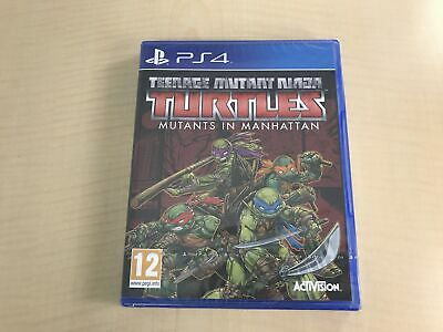 Teenage Mutant Ninja Turtles Mutants in Manhattan PS4