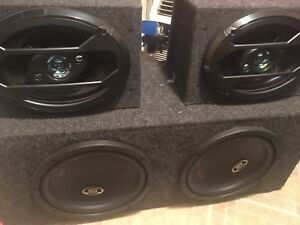 Subs amps box