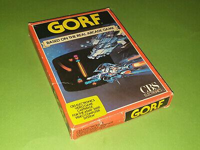 Gorf Boxed Atari 2600 VCS Game Cartridge - CBS Electronics 4L1751