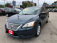 2015 Nissan Sentra S AUTO BLUETOOTH..LOW LOW KMS..MINT COND.