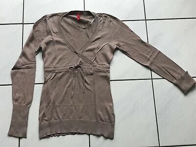 Damen leichter Pullover Langarmshirt figurbetont s.Oliver Gr.34 XS