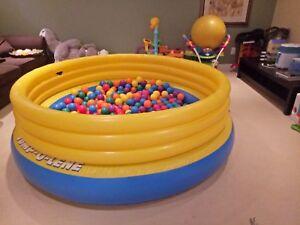 Bouncy pool for kids