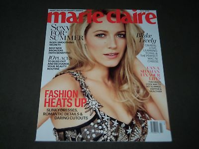2016 JULY MARIE CLAIRE MAGAZINE - BLAKE LIVELY COVER - FASHION - O 9299