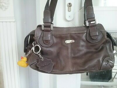 Brown kipling handbag matching purse/wallet