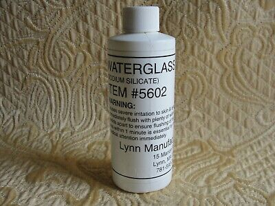 Sodium Silicate Solution 4oz Water Glass