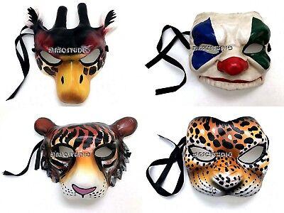 Tiger Donkey Mask Halloween Costume Dress up Cosplay Party (Leopard Halloween-maske)