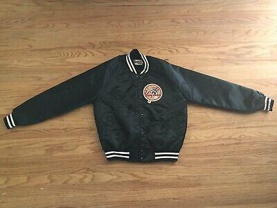 Vintage New York Yankees Chalk Line Satin Jacket 80s Adult Medium NY