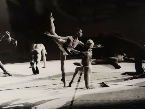 "Suzanne Farrell ballet ballerina photo 1971 w/ Bortoluzzi ""Nijinsky"" Bejart"