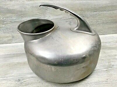 Vintage Babson Bros. Chicago The Surge Stainless Steel Milker Dairy Farm Bucket