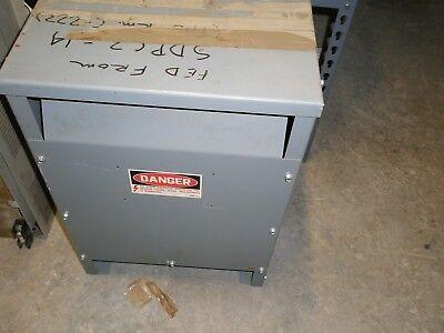 Square D Company Sorgel Transformer 12752-12612-005 15s1h 15kva