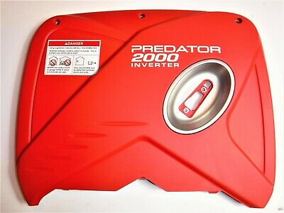 Predator 2000 Watt Inverter Generator Side Cover Left Pull Start Side - Oem