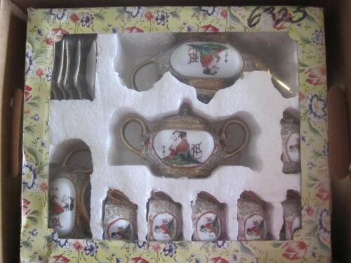 Lovely Chinese Tea Set for 6
