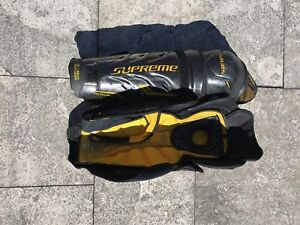 Hockey Shin pads Bauer total one mx3