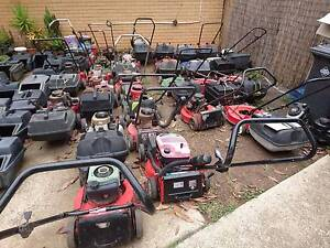 BARGAIN LAWNMOWER AND SPARE PARTS BONANZA - MUST GO Stafford Brisbane North West Preview