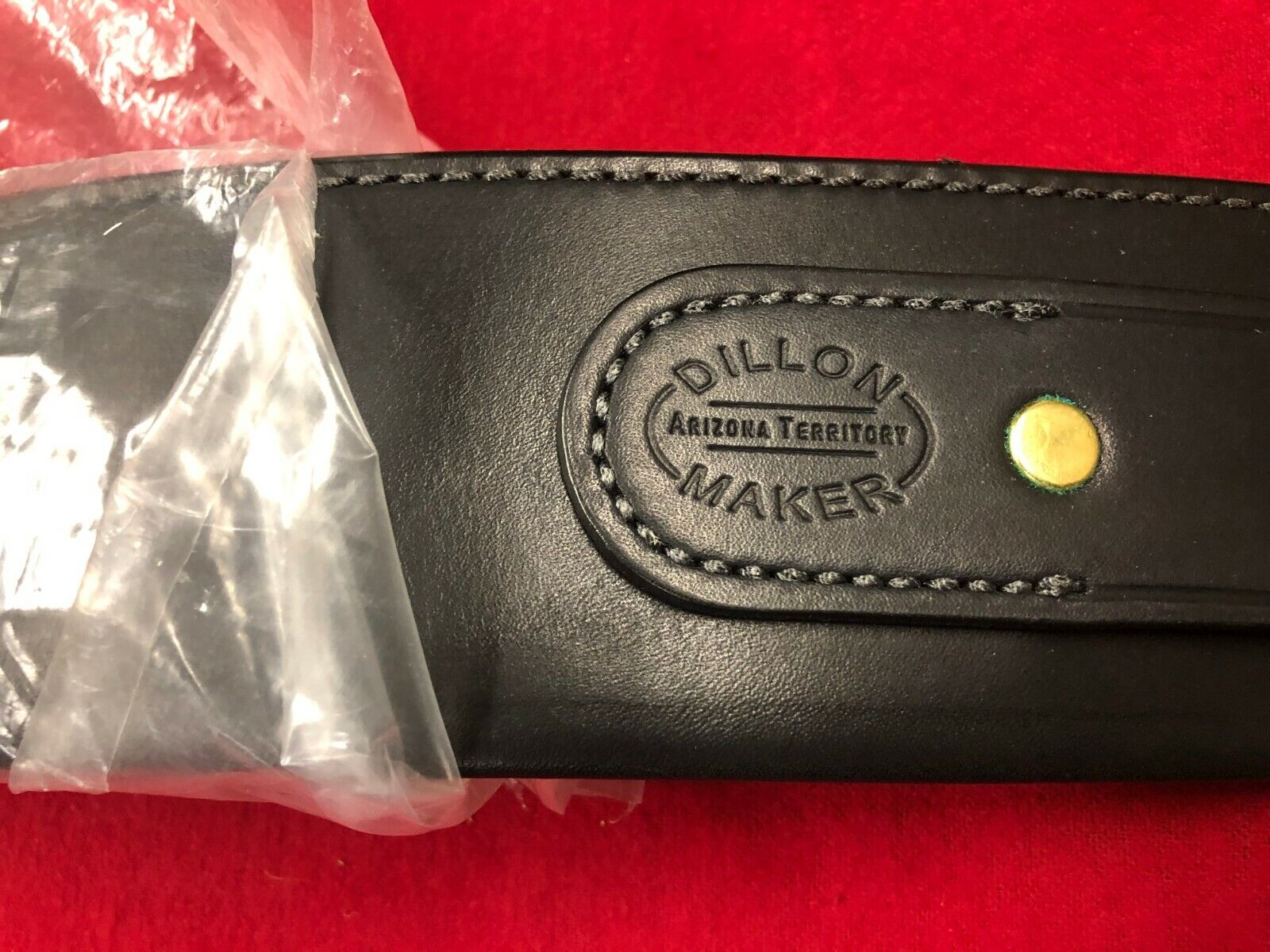 Dillon Precision  Arizona Leather  Money Gun Belt Size 36 w/