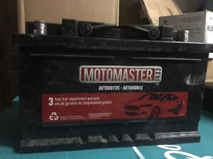 Car battery with warranty