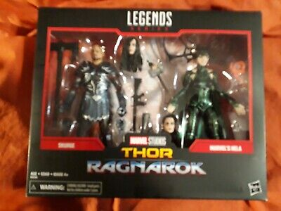 """Marvel Legends SKURGE HELA ASGARD 2-Pack cheapest on ebay 6"""" great condition"""
