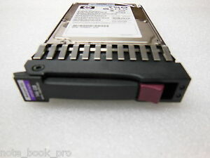 HP-146GB-SAS-10K-Dual-Port-2-5-Spare-No-418399-001-Hard-Disk-Drive-with-Caddy