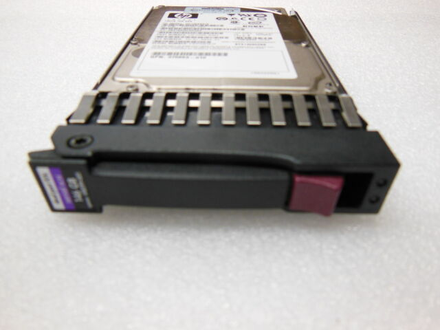"""HP 146GB SAS 10K Dual Port 2.5"""" Spare No 418399-001 Hard Disk Drive with Caddy"""
