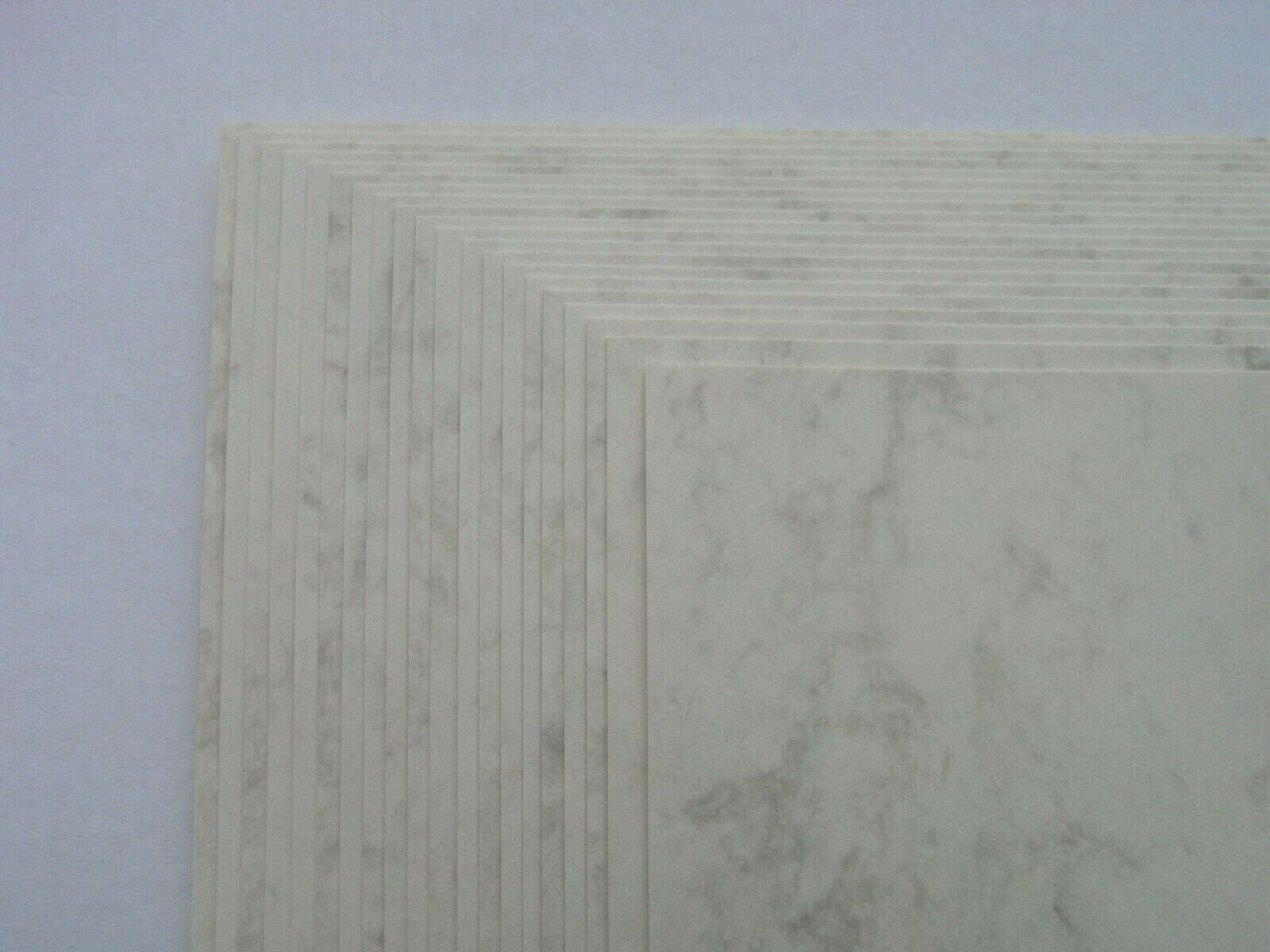 Marmor - Papier, braun - beige A4 200 g/qm 20 Blatt marmoriert
