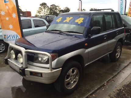 1999 Mitsubishi Pajero io 4x4 5 Speed $2290 Clontarf Redcliffe Area Preview