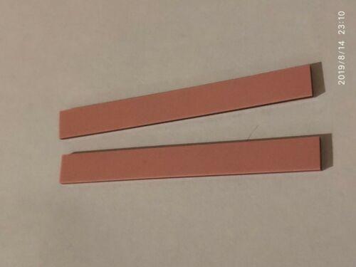 "2 pcs silicon zebra rubber connector 2.7""x0.3""x0.08"" 68 x 7.6 mm strip LCD"