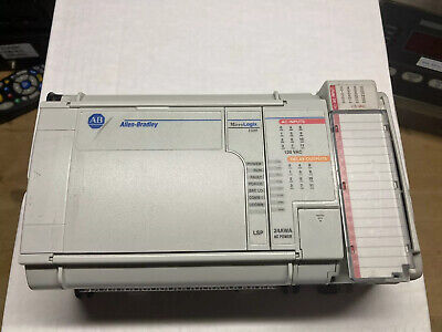 Allen Bradley 1764-24awa 1764-lsp With 1769-ecr Io Micrologix 1500 Controller