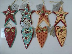 Gisela-Graham-Wooden-and-Tin-Printed-Star-Christmas-Dec-4-asst