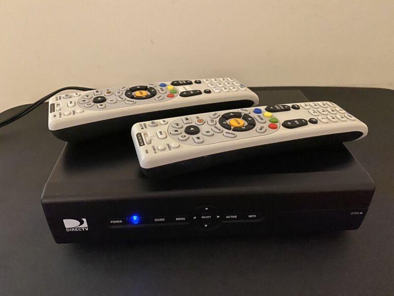 DIRECTV D12 TV Receiver And 2 Remotes