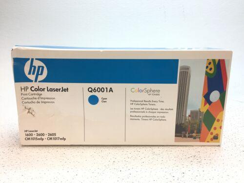 genuine q6001a cyan color laserjet print cartridge