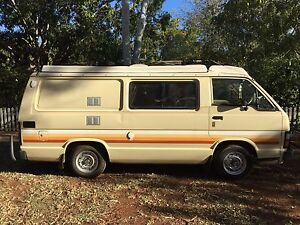 Toyota Hiace Camper van Broome Broome City Preview