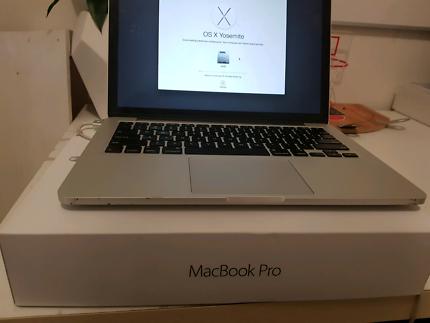 MacBook Pro 13inch 128gb Retina display
