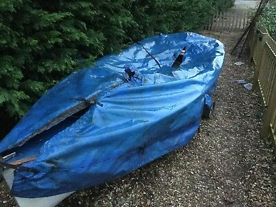 GP 14 sailing dinghy -Basic restorations required
