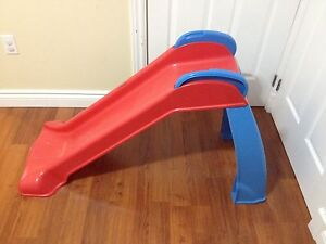 Toddler blue/red slide!!