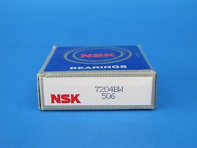Nsk 7204bw Angular Contact Bearings 7204byg