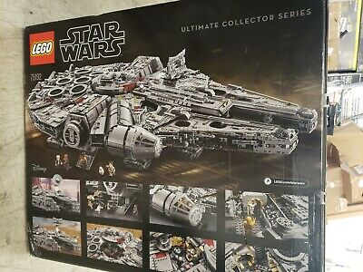 NEW LEGO Star Wars Millennium Falcon 75192 outer box open INNER BOXES SEALED