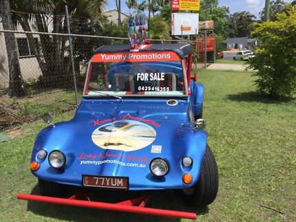 Unique Beach Buggy built for fun, camping, and vending
