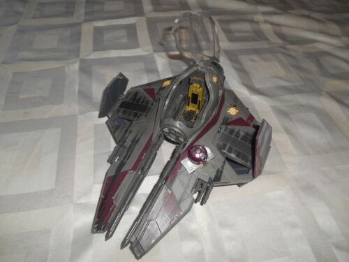 Star Wars Vehicle Obi Wan Jedi Starfighter w/ Missiles 2004