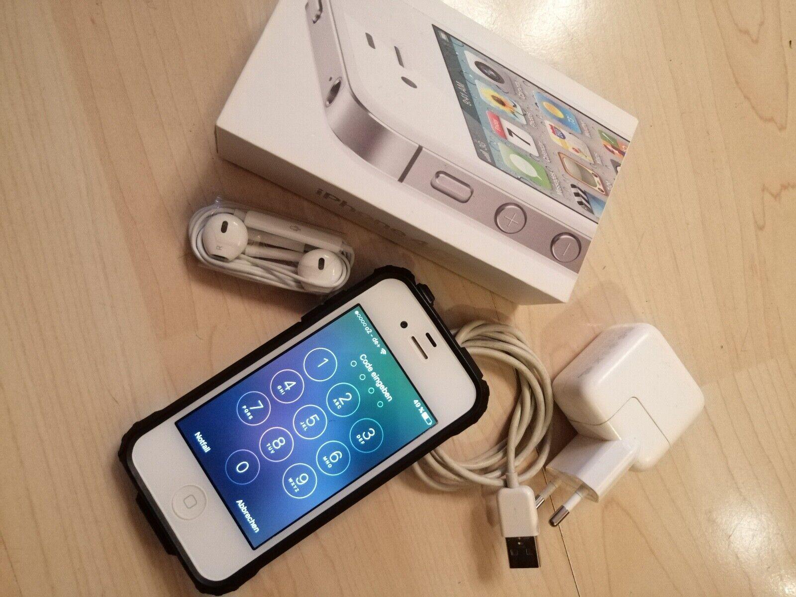 Apple Apple iPhone 4s - 16GB - Weiss - Ohne SIM-Lock - Guter ZustandiPhone 4s