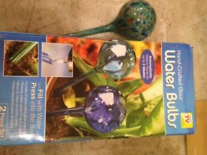 Plant water bulbs - self watering!