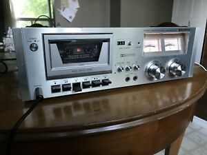 1980 SANYO RD 5030 Tape Cassette Deck Japan Made Works A1