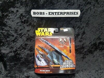 -   Star Wars Episode 3 - Vulture Droid with firing projectiles & buss droid b-44