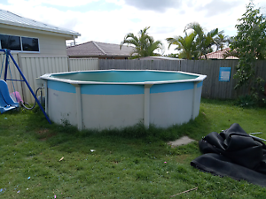 12ft round above ground pool by poolscape Capalaba Brisbane South East Preview