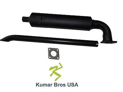 New Kubota Muffler & Exhaust pipe W/Gasket B8200D B8200E B8200HST-D B8200HST-E
